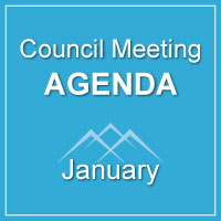 Council Meeting Agenda January