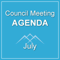 Council Meeting Agenda July