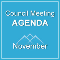 Council Meeting Agenda November