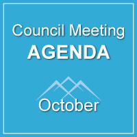 Council Meeting Agenda October