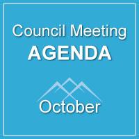 Council Meeting Agenda October