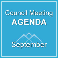 Council Meeting Agenda September