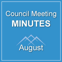 Council Meeting Minutes August