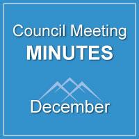 Council Meeting Minutes December