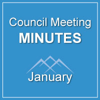 Council Meeting Minutes January