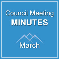 Council Meeting Minutes March