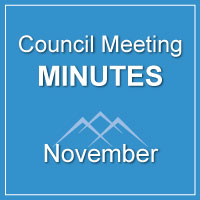 Council Meeting Minutes November