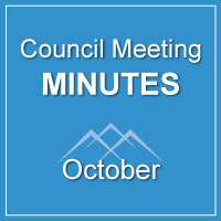 Council Meeting Minutes October