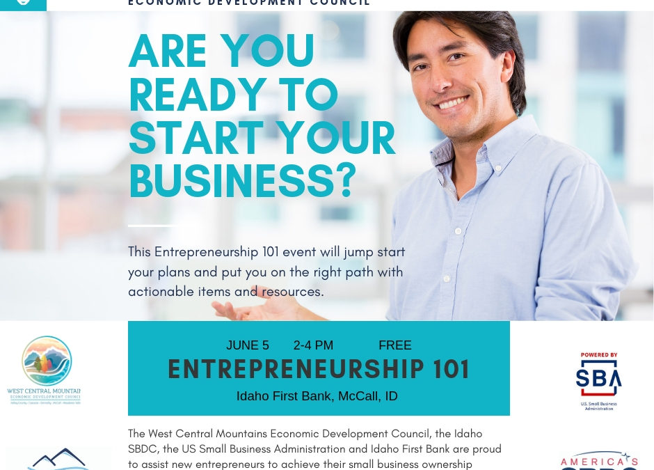 Entrepreneurship Training June 5th!